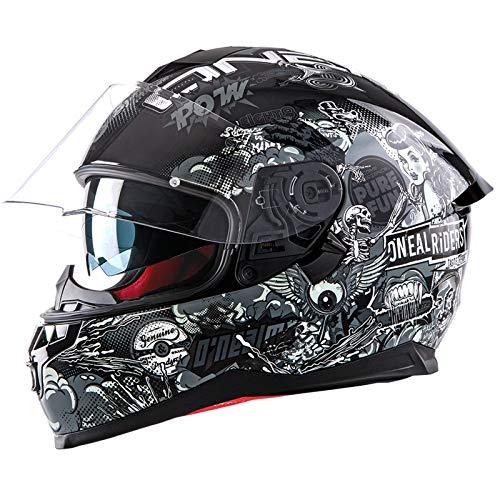 Oneal Challenger Helmet Crank Black/White L (59/60 cm) Motorradhelm MX-Motocross, Erwachsene, Unisex