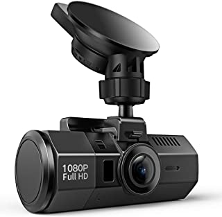 Crosstour Dash Cam 1080P FHD DVR Car Dashboard Camera Video Recorder for Cars Super Night..