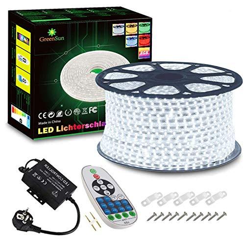 Tira de luces LED, 100 m, color blanco frío, tira de luz LE