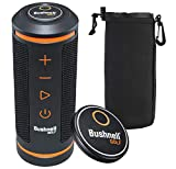 Bushnell Wingman Golf GPS Speaker with PlayBetter Protective Neoprene Pouch | Music & Audible GPS Distances | Score Tracking, 3D Flyovers & 36,000+ Courses | with Protective Sleeve | 361910