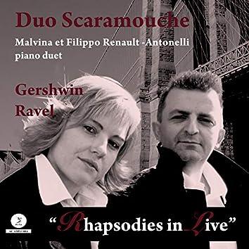Rhapsodies in Live (Piano Duet) (Piano Duet)