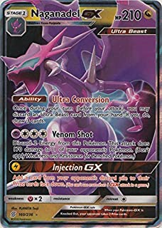 Naganadel GX - 160/236 - Ultra Rare - Unified Minds