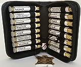 16 bewährte homöopathischen Einzelmitteln, speziell für Hunde zusammengestellt. Inhalt: 16 Mittel á 1,2g Globuli in UV-Schutzglas-Röhrchen. im hochwertigen Leder Etui mit Strahlen-Abschirmung. Auf Nachfrage erhalten Sie gerne eine komplette Liste übe...