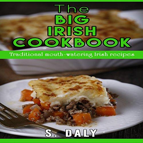 The Big Irish Cookbook audiobook cover art