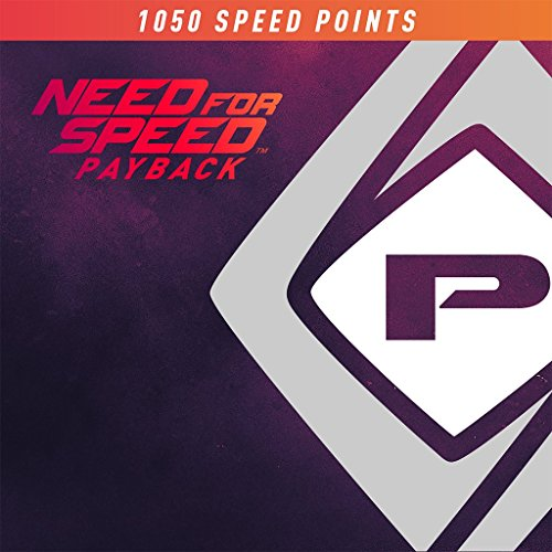 Need For Speed Payback 1050 Speed Points - PS4 [Digital Code]