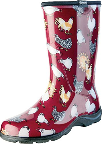 Sloggers Women's Waterproof Rain and Garden Boot with...