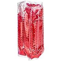 levivo cd03 fascia raffredda bottiglie con 7 camere refrigeranti e chiusura in velcro ca, rosso, 42 x 20 cm