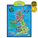 BEST LEARNING i-Poster My United Kingdom Interactive Map - Educational Talking Toy for Boys and Girls Ages 5 to 12 Years Old for Kids
