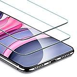 ESR iPhone 11 ガラスフィルム iPhone XR 用強化ガラスフィルム [簡単貼り付けガイド枠] [ケースと相性バッチリ] iPhone 11/XR 用強化ガラス液晶保護フィルム [2枚セット]