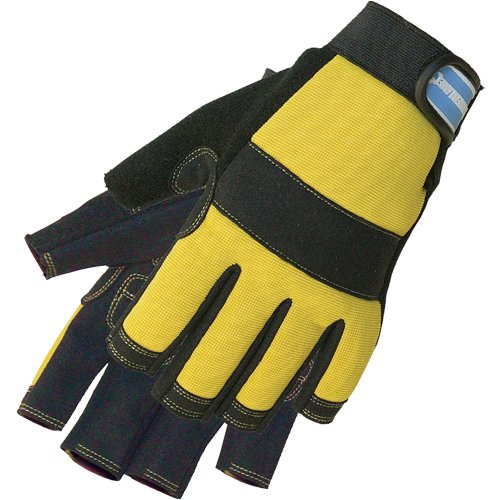 guanti lavoro senza dita Silverline 633906
