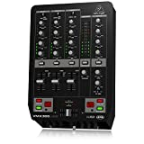 Behringer VMX300USB 3-Channel DJ Mixer with USB Interface, BPM Counter and VCA Control