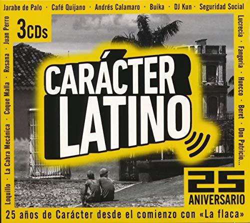 Carácter Latino - 25 Aniversario (3 CD's
