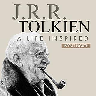 J.R.R. Tolkien audiobook cover art