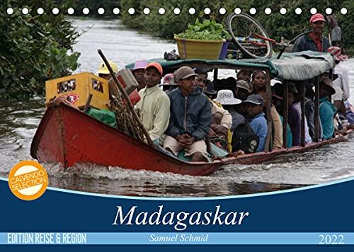 Madagaskar (Tischkalender 2022 DIN A5 quer)
