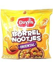 Curry Crisps   Duyvis   Borrelnootjes' Oriental   Peso total 300 gramos