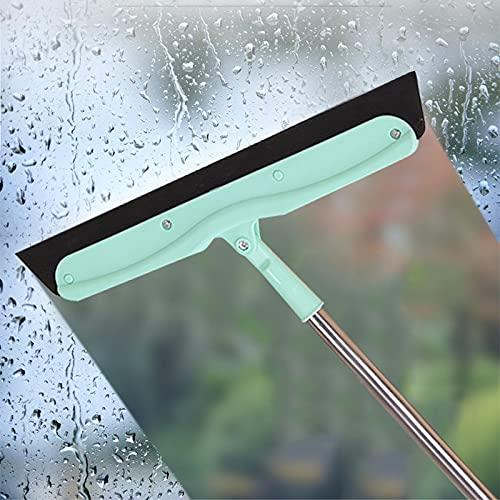 Juego de fregona y cubo Escoba mágica silicona mascota capriche de pelo accesorios de escoba de piso barrido de vidrio limpiaparabrisas limpieza de limpieza de doble uso desguace ( Color : 1 PC )