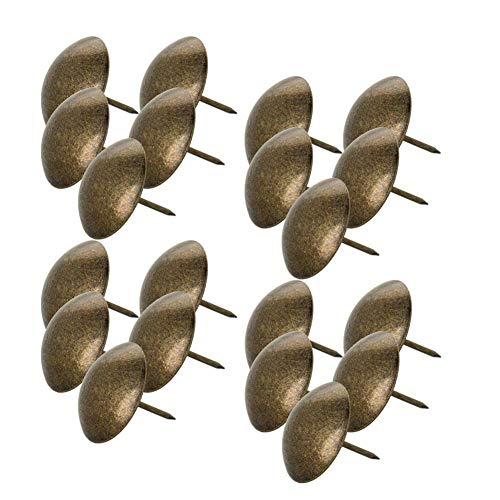 MroMax - Clavos para tapicería (30 mm, diámetro de la cabeza, 30 mm, longitud de 30 mm)