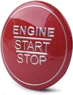 beler Start Stop Engine Bouton dallumage Couvercle de linterrupteur /à poussoir A