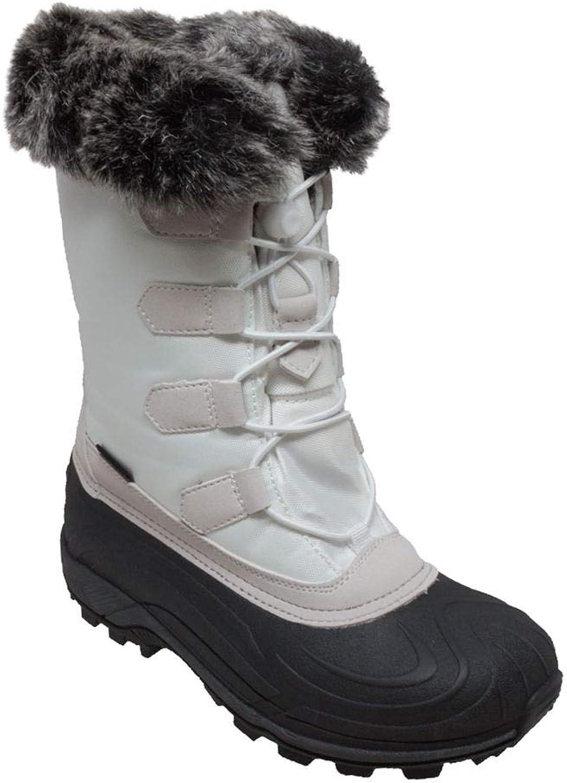 TECS Womens 8780-wt Snow Boot