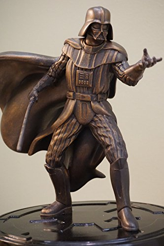 "Star Wars Darth Vader 9.5"" Statue [Faux bronze] (Disney Store) image"