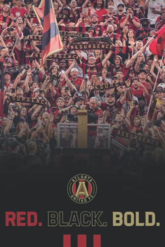 Atlanta United Notebook: - 110 Pages, In Lines, 6 x 9 Inches