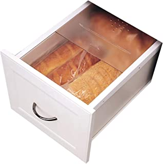 Rev-A-Shelf Small Bread Cover (Translucent) Drawer Organizer, Clear