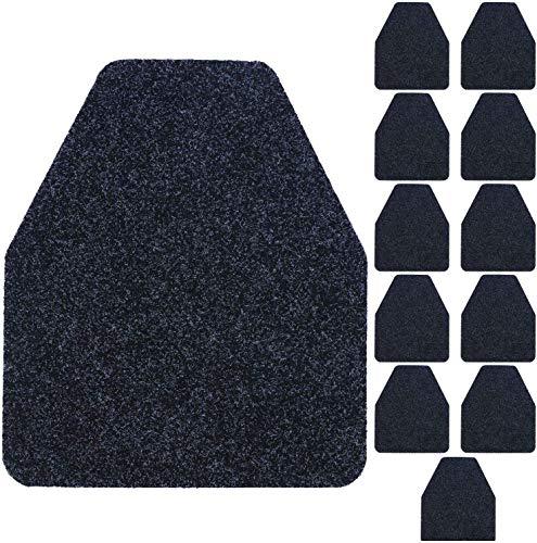 Houseables Urinal Mats, Floor Pads, 12 Pack, 17.25