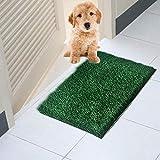 iYoung Neues Potty Potty Traning Pad Künstliches, Dickes, spritzwassergeschütztes Urinalmatten-Set mit Grasbodentür