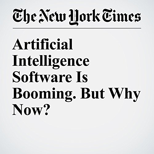 Artificial Intelligence Software Is Booming. But Why Now? audiobook cover art