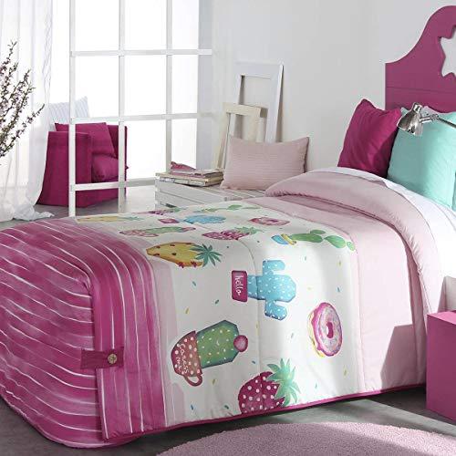 Reig Marti - Edredón Conforter Pineapple 02 - Cama 105 Cm