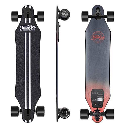 Teamgee H5 37' Electric Skateboard, 22 MPH Top Speed, 760W Dual Motor,...