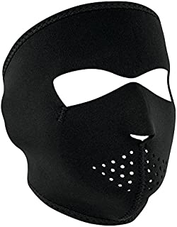 a man with a mask