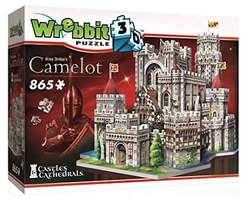 JH-Products Camelot 3D-Puzzle, Mehrfarbig
