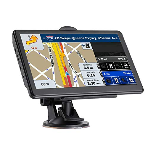 GPS Navigation for Car, 7-inch Display 256MB-8GB Real Voice Broadcast Route US 2020 Map (Free Map Update for Life)