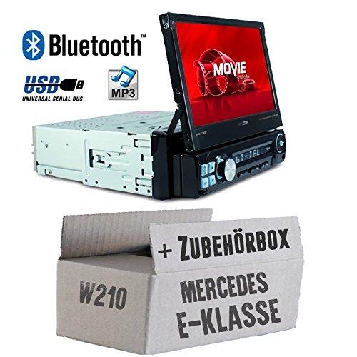 Autoradio Radio Caliber RMD574BT - Bluetooth | MP3 | USB | SD | 7' TFT - Einbauzubehör - Einbauset für Mercedes E-Klasse JUST SOUND best choice for caraudio