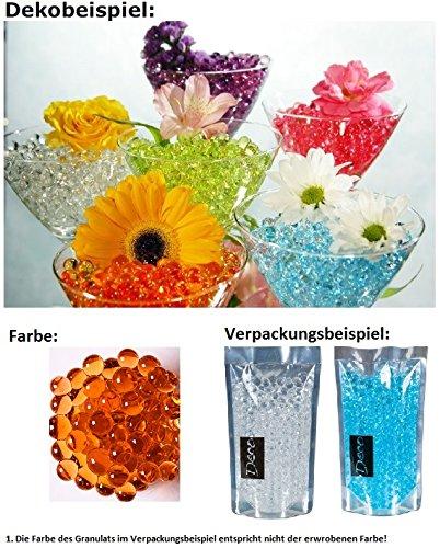 HRB Deko, Dekoperlen,Aqualinos+Giant Pearls Wasserperlen Farbe Coral 15-18mm