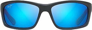 Maui Jim - B766-08C Gafas, negra mate azul trasparente, 61/17/127 para Hombre