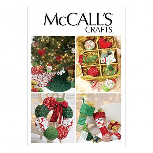 McCalls Sewing Pattern 6453 Crafts for Christmas Sizes: One Size