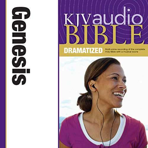 Dramatized Audio Bible - King James Version, KJV: (01) Genesis audiobook cover art