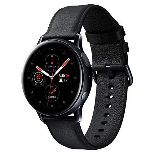 Galaxy Watch Active2 / Stainless steel/ブラック / 44mm [Galaxy純正スマートウォッチ 国内正規品] SM-R820NSKAXJP