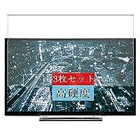 3枚 Sukix フィルム 、 28インチ 東芝 Toshiba 28W3763 テレビ 向けの 液晶保護フィルム 保護フィルム シート シール(非 ガラスフィルム 強化ガラス ガラス ) 修繕版