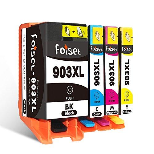 Foiset Remanufatured 903 XL voor HP 903 XL 903XL Inktcartridge voor HP Officejet 6950 6960 6970 All-in-One Printers Black Cyan Magenta Yellow