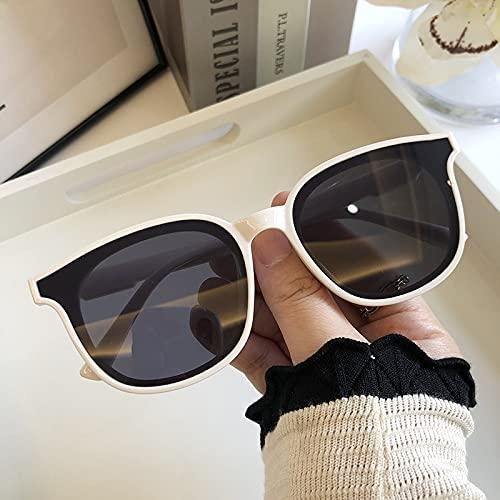 GHXAKPT 1 unids Hombres Mujeres Lujo Nuevo diseñador de Gafas de Sol sobredimensionadas clásicas de Gafas de Sol cuadradas Redondas clásicas Gafas de Conductor al Aire Libre (Color : B)