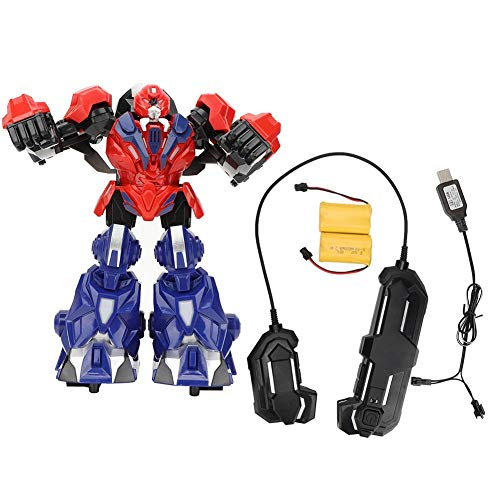 Batalla de Juguete de Robot de Boxeo, Juguete de Control Remoto de Robot con Juego de Boxeo Ligero de Baile Tecnología Juguete de Robot con Sonido Iluminación para niños