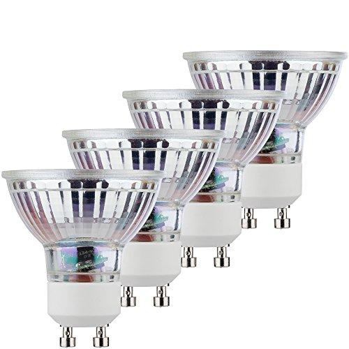 MÜLLER-LICHT 400282_Set A+, Retro-LED Reflektorlampe, ersetzt, Glas, 5W, GU10, Silber, 5 x 5 x 5.3 cm