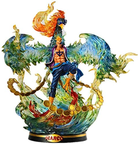 lkw-love One Piece Portrait of Pirates: Marco The Phoenix Figure Figure Collection of Action Figures Gift for Adult Children and Cartoons Fans - High 15 7 Inch