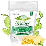 Agar Agar Powder 4oz: Vegan Gelatin Substitute, Unflavored, Vegan...