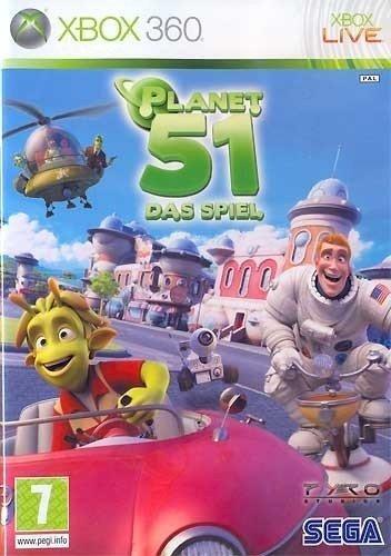 Planet 51 - Das Spiel - PEGI [Edizione : Germania]