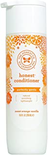 The Honest Company Everyday Gentle Sweet Orange Vanilla Conditioner | Hypoallergenic | Gentle for Babies | Tear Free | Paraben Free | Orange Vanilla Extracts & Coconut Oil | 10 Fluid Ounces