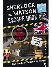 Sherlock & Watson. Escape book per repassar anglès. 13-14 anys